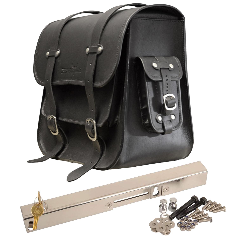 HD Buffalo Bag Halterung Satteltaschen verstellbar Harley Davidson Softail 1984