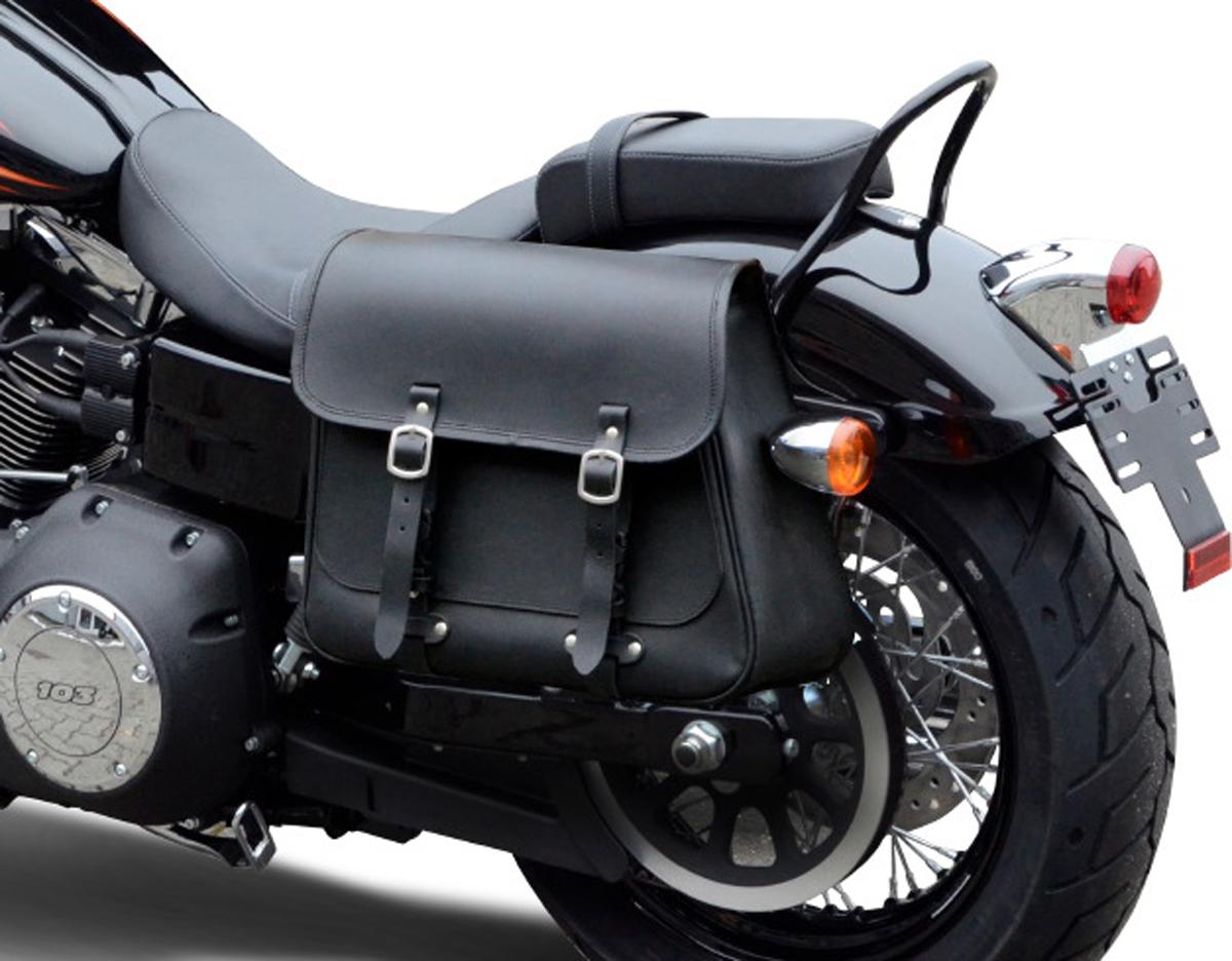 Satteltaschenhalterung Harley Davidson Dyna Fat Bob 2008-2017 Halter Befestigung